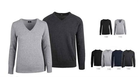 2de6c63c Vancouver v-genser til herre logo kan broderes eller trykkes