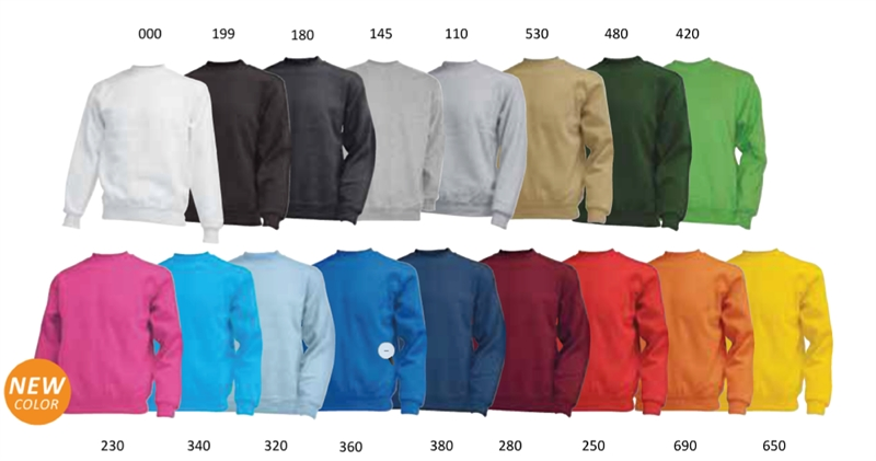 ac6fc7f5 Collegegenser - sweatshirt - billige gensere med trykk eller brodert ...