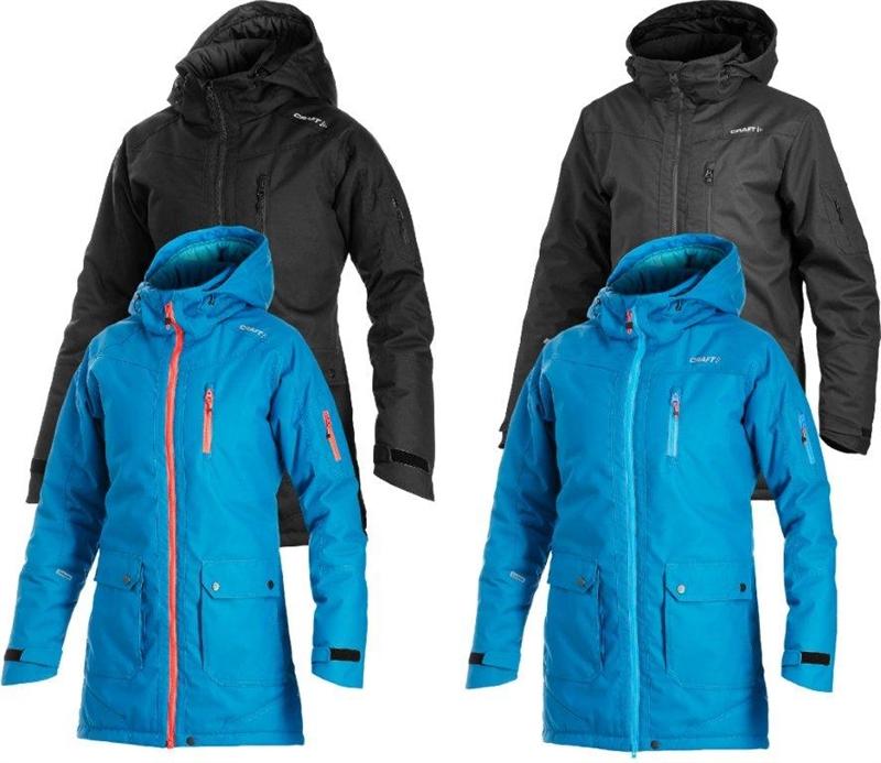 7e963595987 Craft Parker Jacket parkas fra Craft med eller uten brodert logo