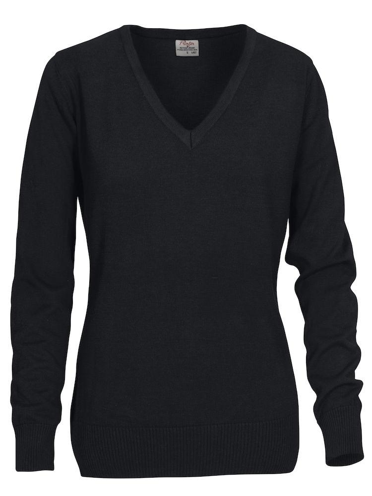 d75abb45 Forehand genser med v-hals i bomull og polyester for damer