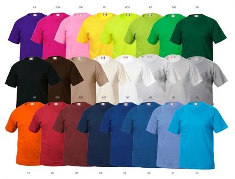 500c24ec T-skjorte med trykk og rask levering new wave print express mange farger