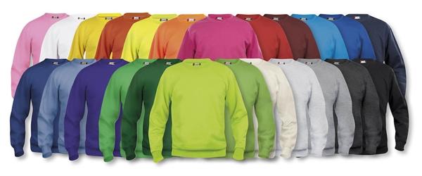 gensere med trykket eller brodert logo