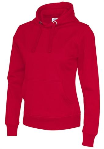 3b427f95 Cottover miljøvennlig hettegenser for damer rød