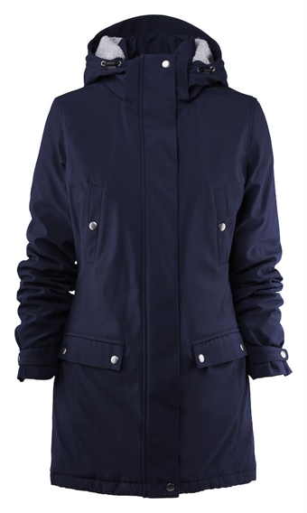 b37a6a75 Parkas Slope for damer med logo marine