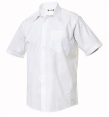 Samson kortermet skjorte for herrer clique 027931 med eller