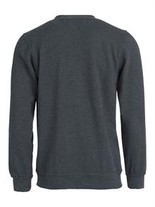 cdda39f3 Basic genser sweatshirt med trykk eller brodert logo billig 021030; Basic  genser braå bakside ...