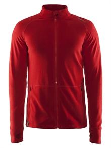 Craft full zip micro fleece jakke med brodert eller trykket logo